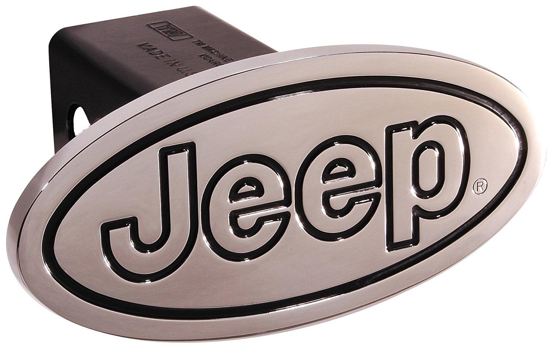 Auto Gold TJEEC Chrome Trailer Hitch Plug Jeep