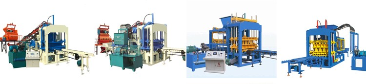 Full automatic hydraulic press building hollow block making machine