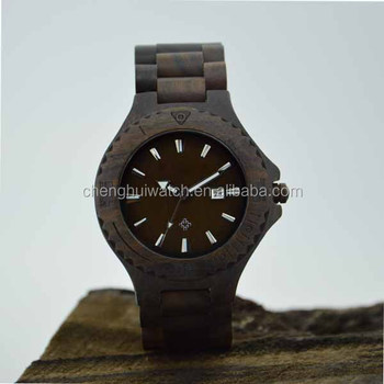hot wood watch made in china 100$ made of nature wooden watch