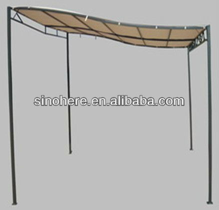 3x3M sidewall steel gazebo kits for sale
