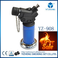 YZ-908Jet Flame Butane Gas Torch Gas Microtorch Portable Culinary Creme Brulee Butane Gas CookingCigar Lighter Jewelry Gas Torch