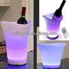 Wholesale glowing lighting waterproof plastic LED ice bucket with 16 colors change approved CE/ Rohs/ SGS certificate