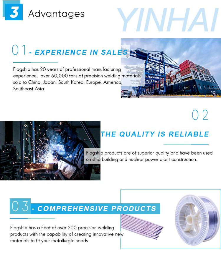 Roestvrij Staal Titanium Silicon Lassen Onderwater Elektroden Fabrikanten Staaf