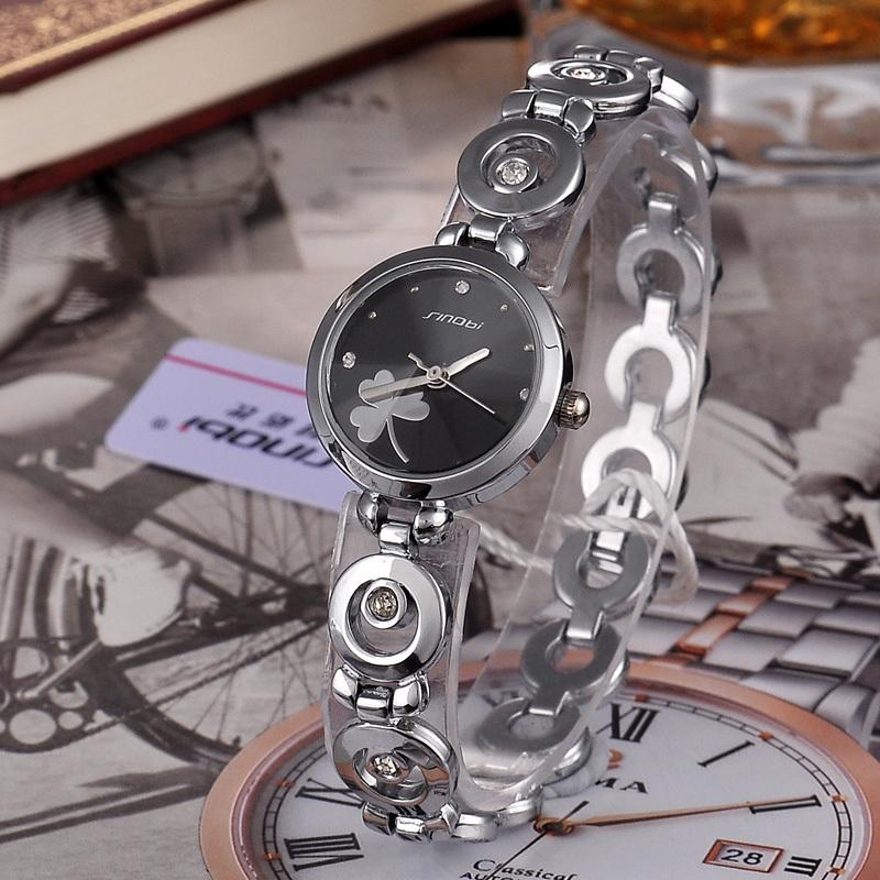 Jw757 мода SINOBI марка дамы элегантные часы, Классическая белый, Черный цвет японии Movt 3ATM женщины наручные часы