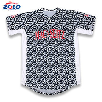 2017 new style promotional custom logo baseball jersey 5xl