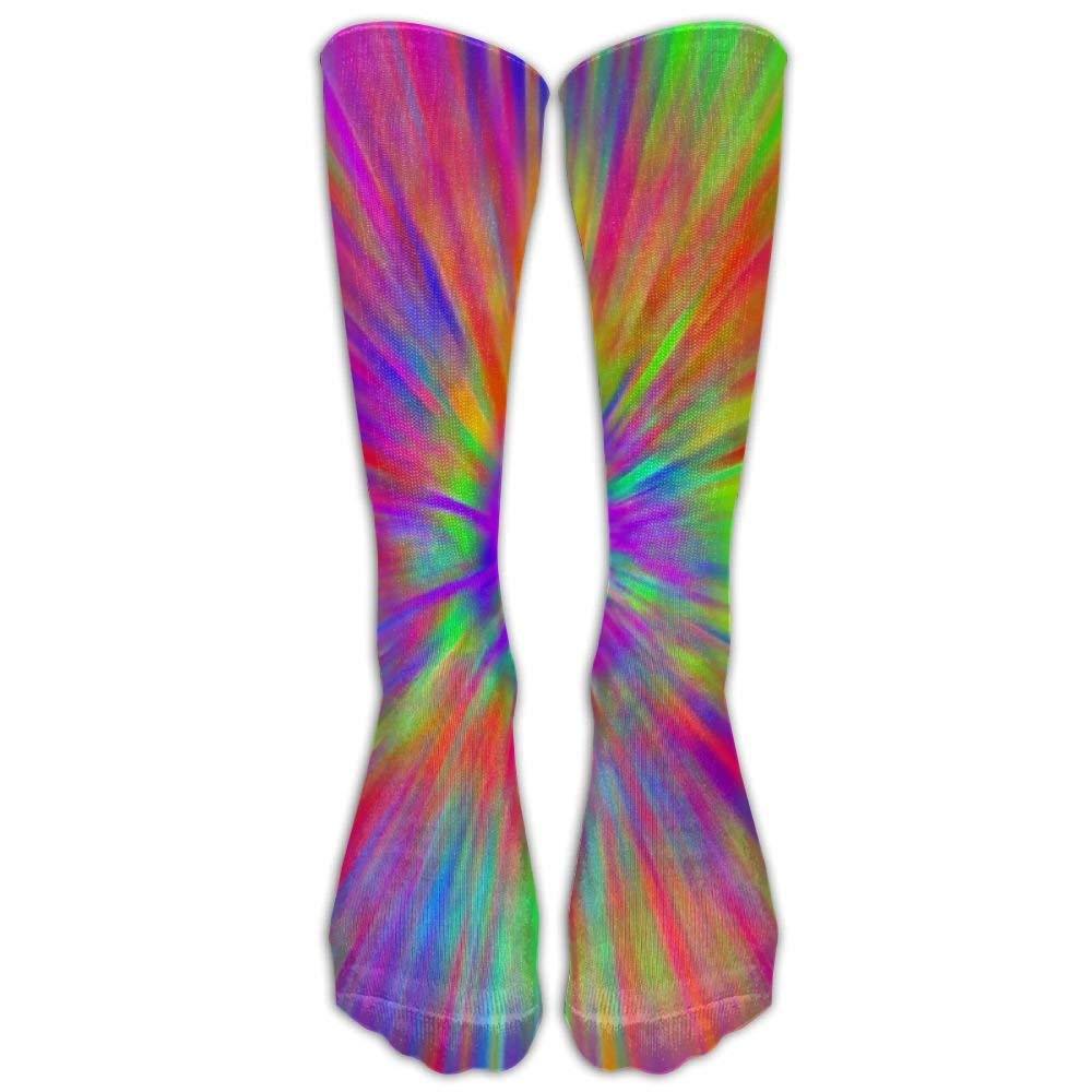 Whdueg Hot Tie Dye Compression Socks For Women And Men - Best Medical, Nursing, Travel & Flight Socks