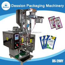 Auto Filling Pouch Packing Machine For Shampoo