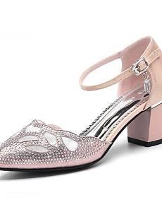 Get Quotations · VU*LK Women's Shoes Glitter Spring/Summer /Fall Heels  Party & Evening /