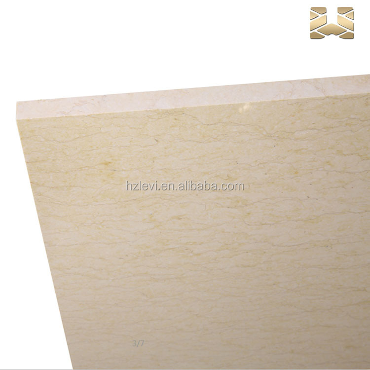 Widely used superior quality golden marble slab