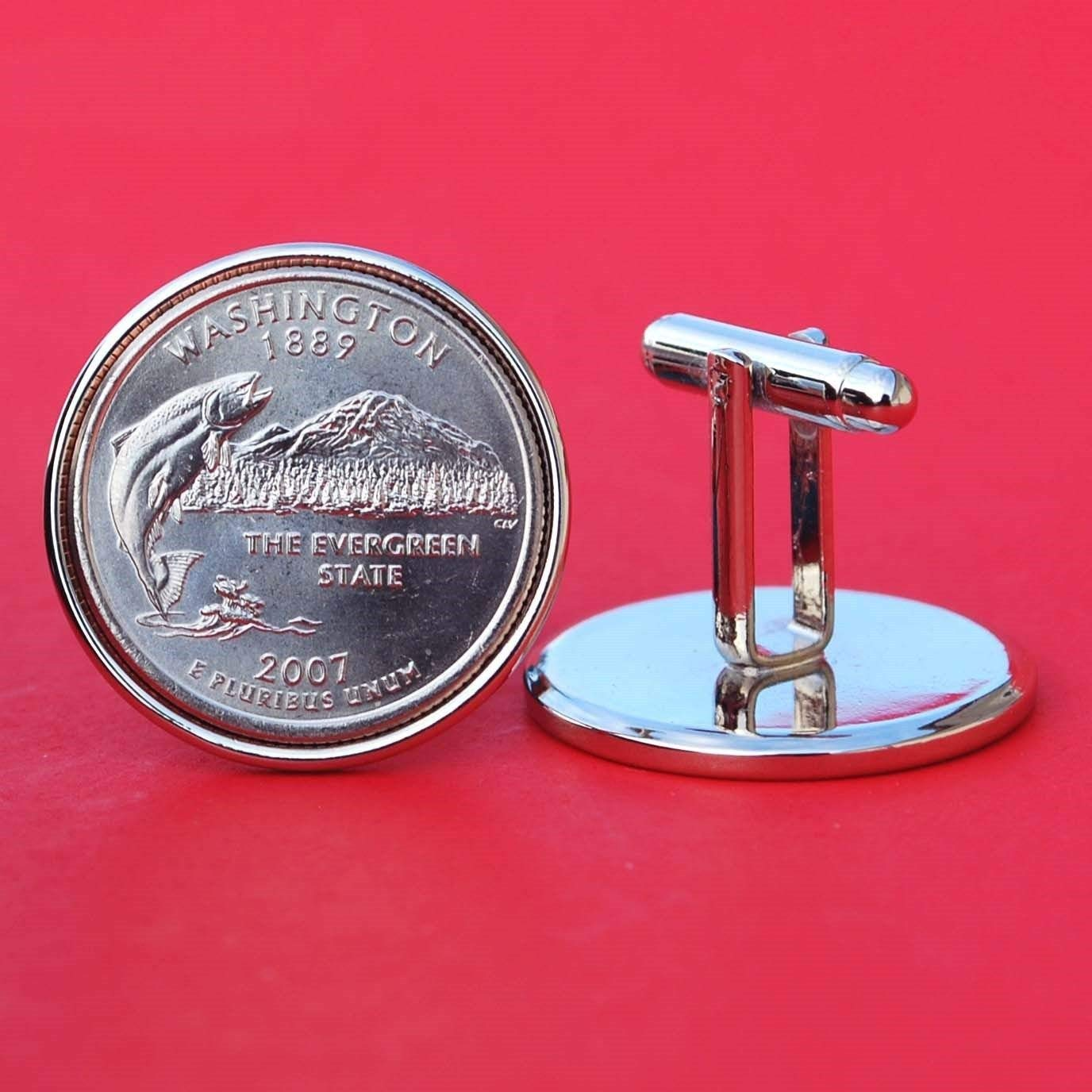 US 2006 Colorado State Quarters Bu Unc Coins Cufflinks NEW