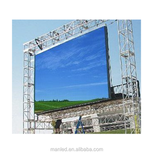 P3.91 p4.81 outdoor hd led display screen p5 p6 backdrop full color led display panel price
