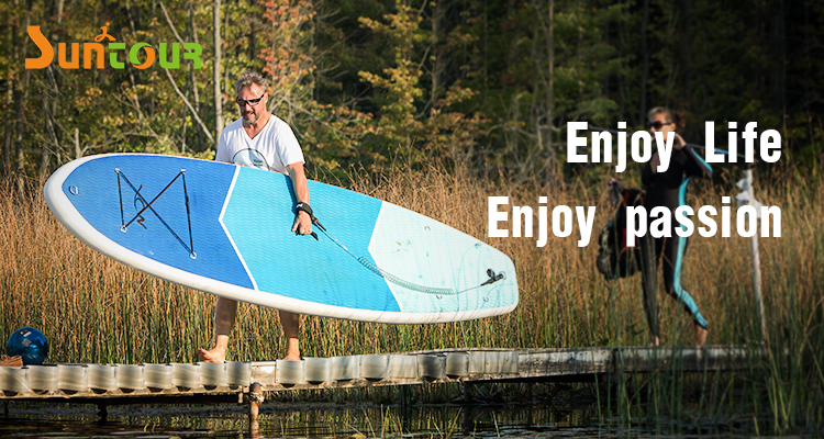 Customized Logo Inflatable SUP Board 118 Inch Long Portable Water Surfing Board for Beginner