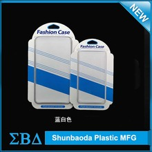 New product custom blister box/pvc clamshell plastic packaging for iphone6 plus case cell phone 5 5s