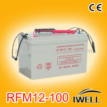 GEL Battery 12V 100AH Solar Systems Deep Cycle Max Life Batteries