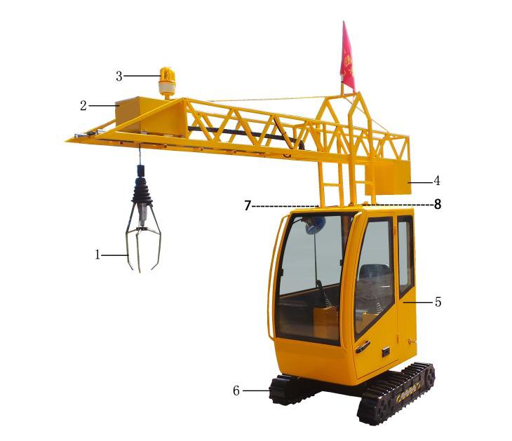 Kids Mini Tower Crane Amusement Heavy Machine, View Mini