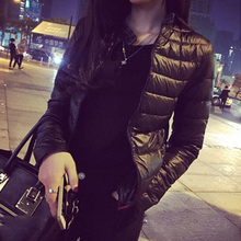 2015 winter& spring  women in Europe and America a thin short section of cultivating outwear cotton padded warm jacket outwear
