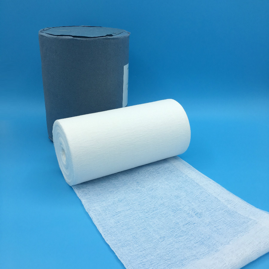 Hospital Use Medical Absorbent Cotton Gauze Roll with competitive price