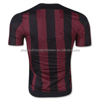 Free shipping to milan 2016/17 AC soccer jerseys 3 color football shirts