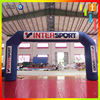 Custom gaint advertising race event starting finish sports inflatable finish line