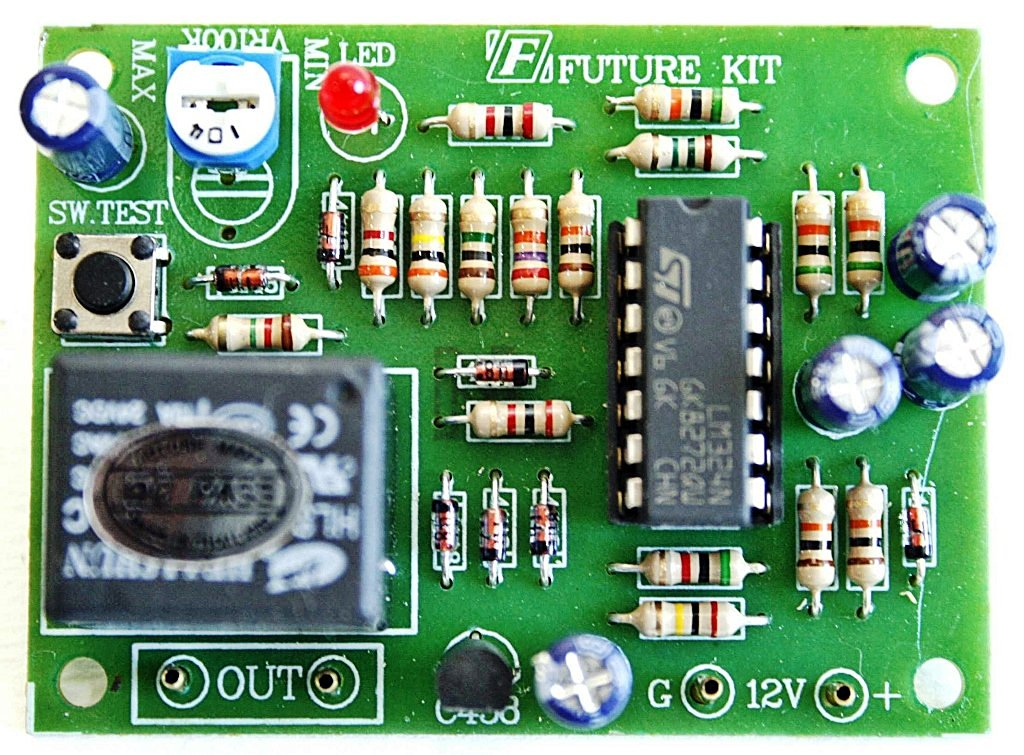 Motorcycles/Car Start System Security Alarm Electronic Circuit Board kit : FA504