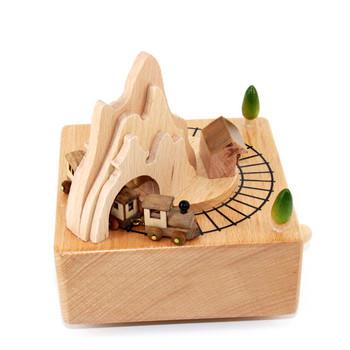 FQ brand new personal supplies gift children beautiful wooden baby music box 994ec531e82f