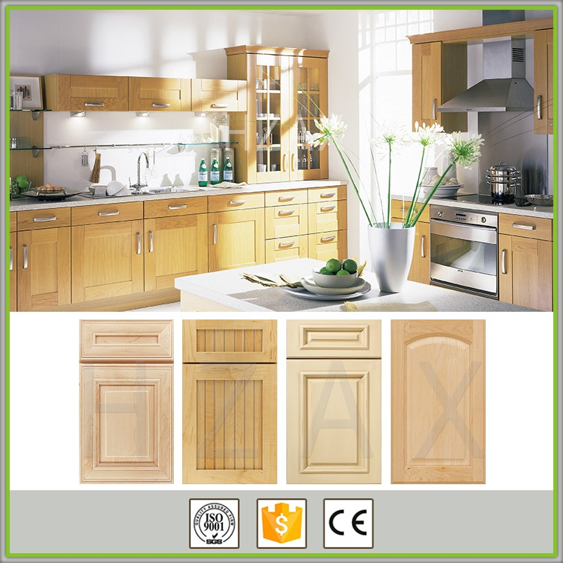 Unfinished Wood Kitchen Cabinets Wholesale: Wholesale Modern Design Russian Natural Maple Solid Wood