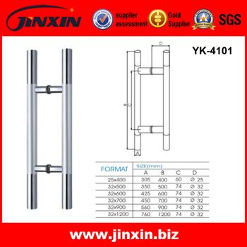 JINXIN Stainless Steel Shower Glass Door Handles Tempered Sliding Glass  Door Handle