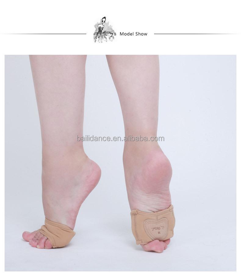 D017001 Dttrol Leather Lyrical Half Sole Shoe For Modern Dance ...