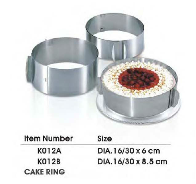 Stainless steel Cake Ring cooking