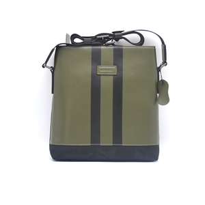 MESOBEST Custom Vegan Leather Camouflage Nylon Microfiber Shoulder Bag Men  Messenger Bags in Green d696a2d33d4b8