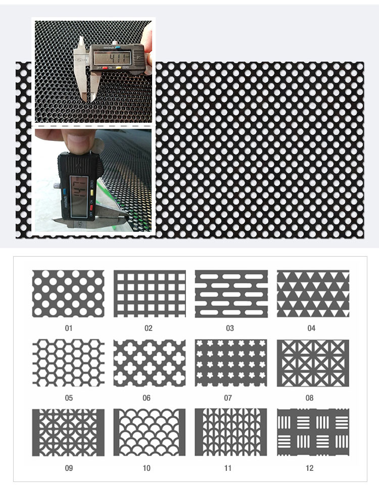 China Supply Ultra Fine Perforated Metal Sheet Micron