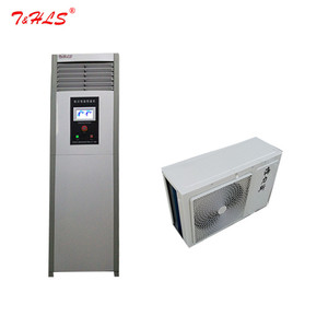 wine cellar equipment ducted type air conditioning unit cooling refrigeration and humidification system