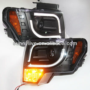 For FORD F150 Raptor LED Strip Head Lamp 2013-14 Year