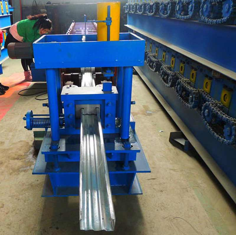 Good quality Automatic roller single roof tile c z u purlin shape steel purling roll forming contruction machine for sale