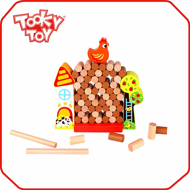 Hot sale new design diy toys set giant jenga
