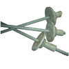 High strength fiber glass FRP material threaded anchor rock bolt