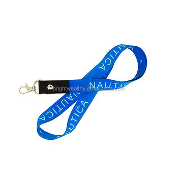 China Factory Competitive Price Custom Printing Polyester Neck cell phone lanyard