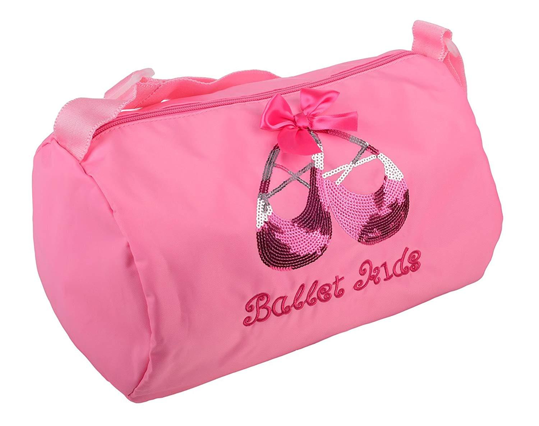 Dressy Daisy Girls' Waterproof Ballet Dance Bag Hand Bag Shoulder Bag Duffle Bag