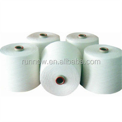 16s 25s 29s 36s Recycled 100% Polyester Spun Yarn Raw White
