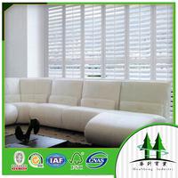 paulownia/pvc/basswood plantation shutter