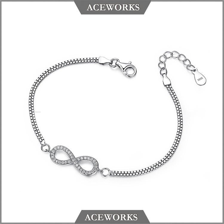 2017 jewelry 925 sterling silver jewelry bracelets <strong>accessories</strong> for women