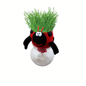 Creative Cheap Corporate Christmas Grass Head Corporate Gifts Premium Kid Gifts