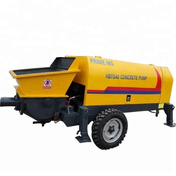 40m3 small concrete mobile pump ready mix concrete pump price