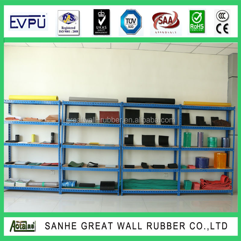 Great Wall Floating Natural pure gum Rubber Sheet with competitive price