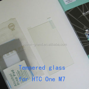 Premium 0.3mm 9H Tempered glass screen protector for HTC One M7