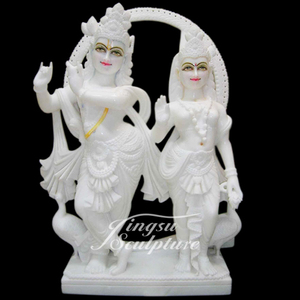 Religious Decoration Indian God Radha Krishna Statue