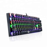 Colorful Led Illuminated Ergonomic Switch Keyboard Mechanical Gaming