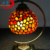 2017 New design home decorative agate material handmade gemstone table lamp