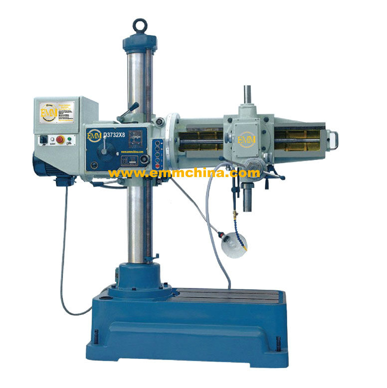 UD3732X8 Universal radial arm drilling machine