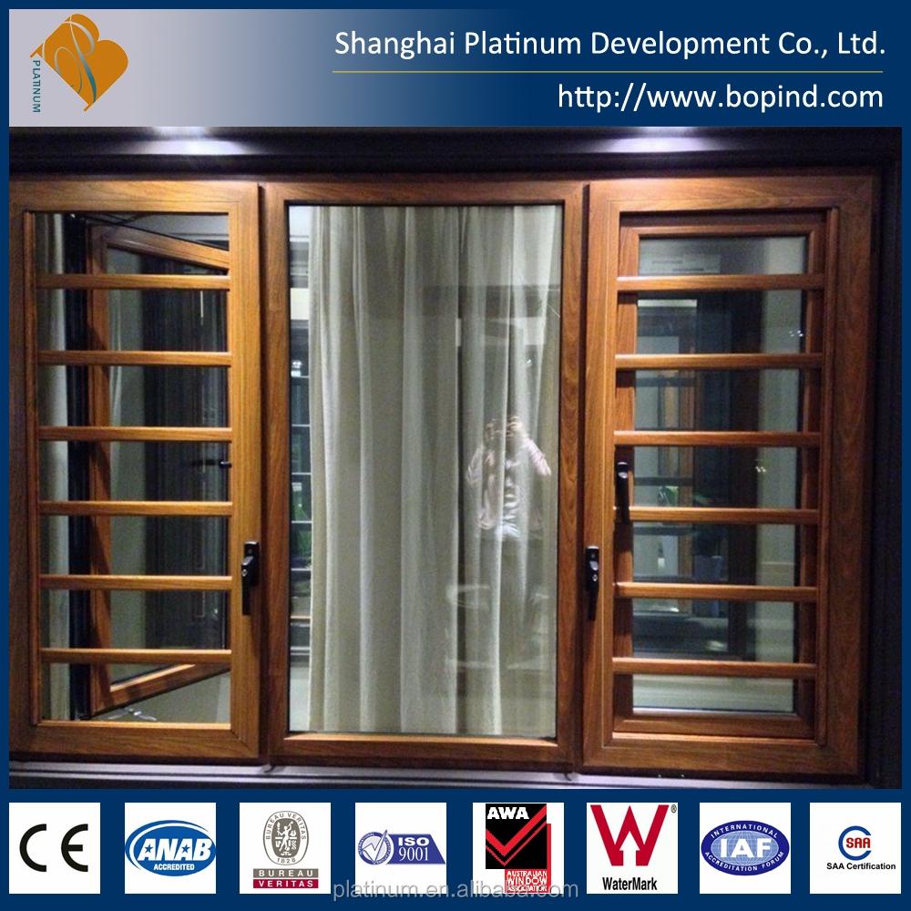 Estándar australiano perfil de aluminio ventana deslizante Grids ...